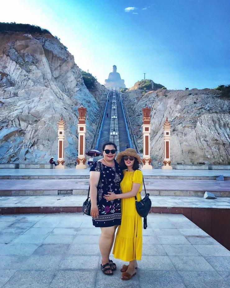 Checkin tại chùa Linh Phong hay còn gọi chùa Ông núi