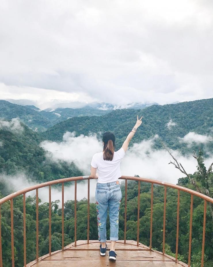 Trên đỉnh Quế Tây Giang