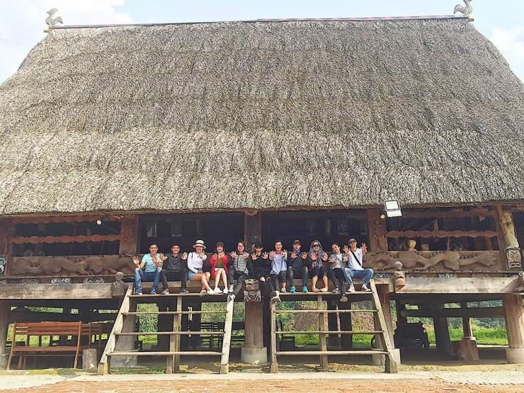 Ngôi nhà của cộng đồng người dân Cơ Tu