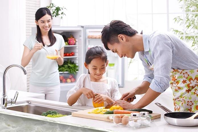 Bạn có thể cùng quây quần bên nhau và nấu những món ăn ngon cho gia đình của mình