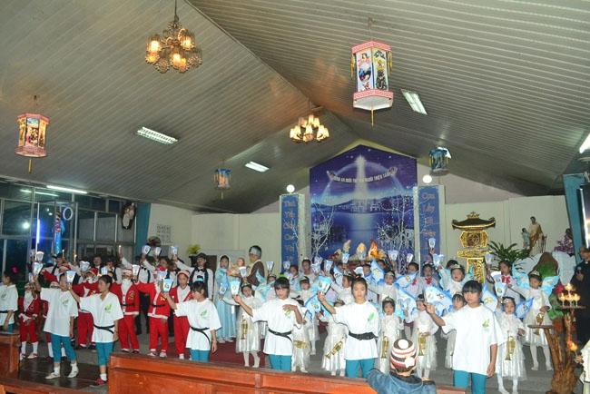 Chương trình Noel đặc sắc diễn ra tại thánh địa