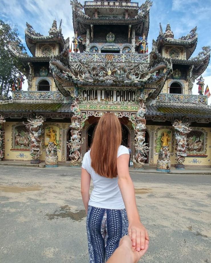 Chùa Linh Phước hay còn gọi là chùa Ve Chai tại Đà Lạt