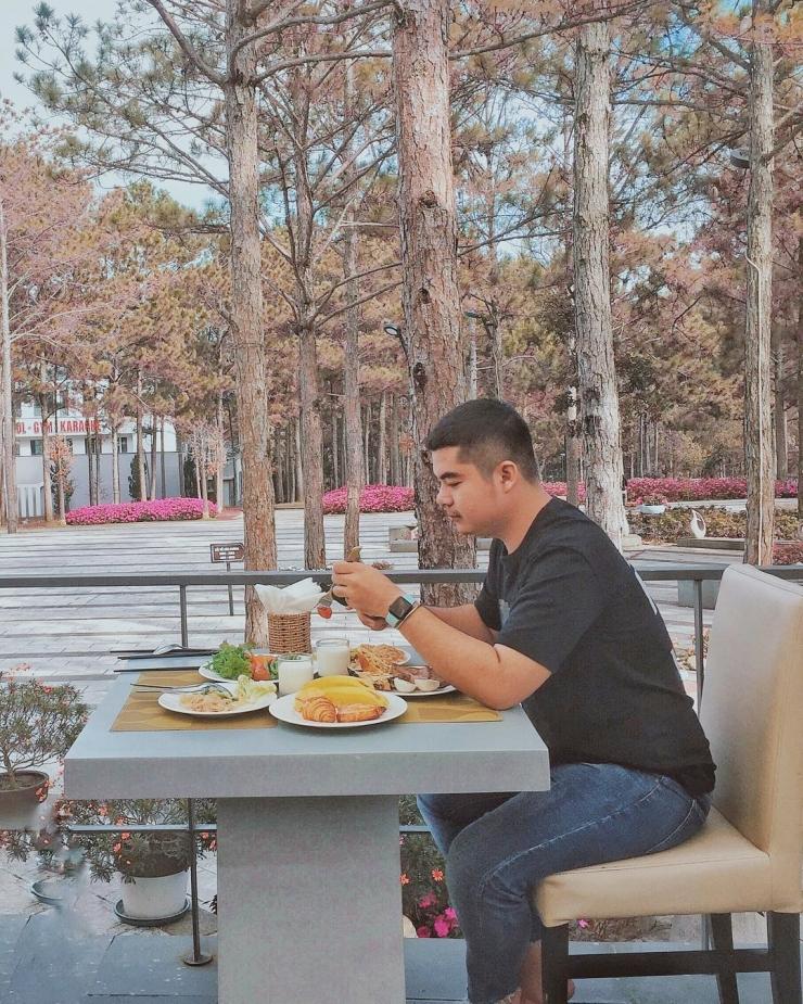 Ăn sáng tại Terracotta Đà Lạt