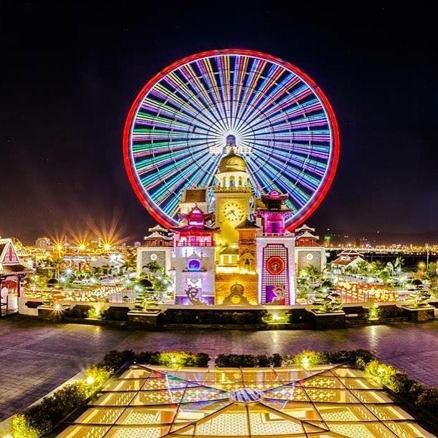 Sun Weel được xem là biểu tượng du lịch mới tại Đà Nẵng