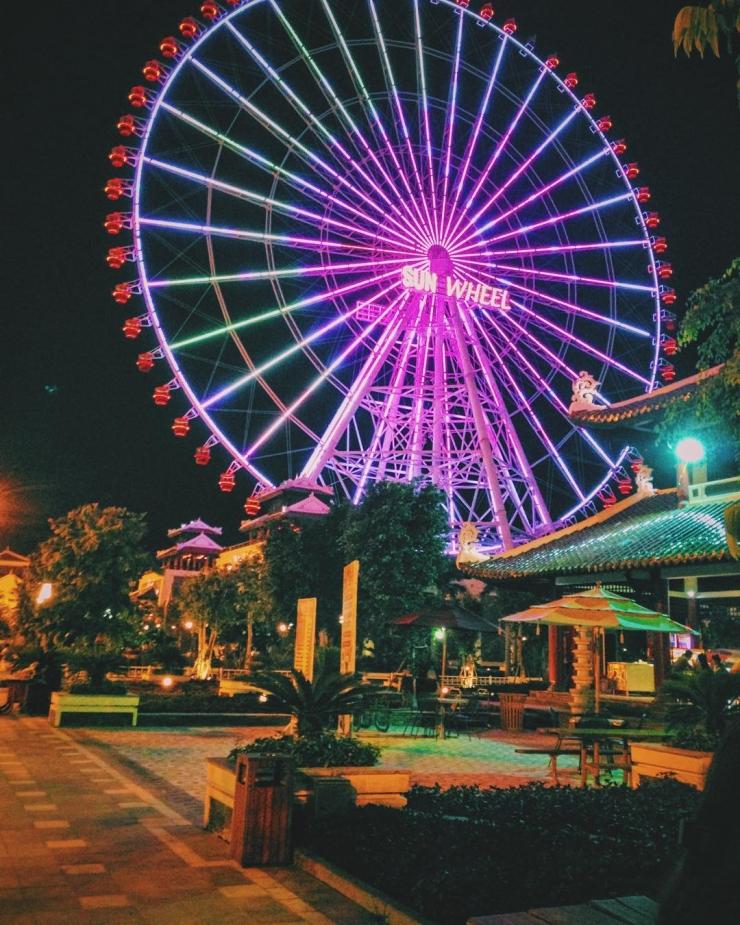 Vòng quay Sunwheel Đà Nẵng thuộc top 10 vòng quay lớn nhất thế giới
