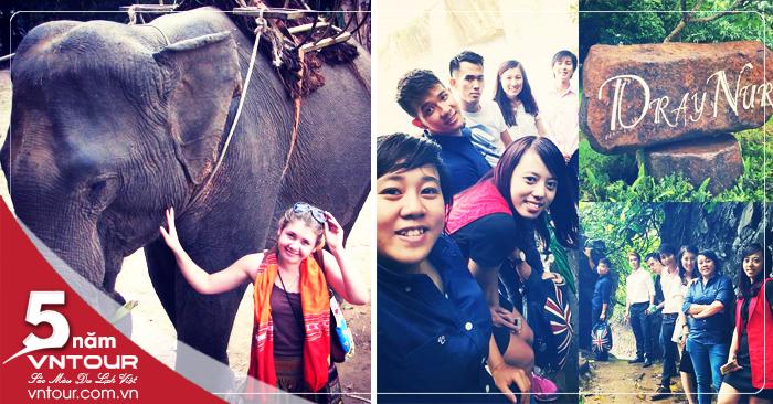 Tour du lịch Tây Nguyên : Buôn Mê Thuột - Pleiku - Komtum