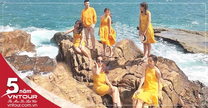Tour du lịch Ninh Chữ 2 ngày 2 đêm: Đảo Bình Hưng - Vịnh Vĩnh Hy - Hang Rái