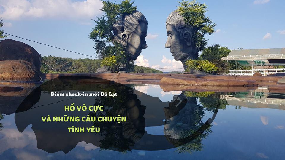 Hồ vô cực - mảnh đất tình yêu níu chân người lữ khách