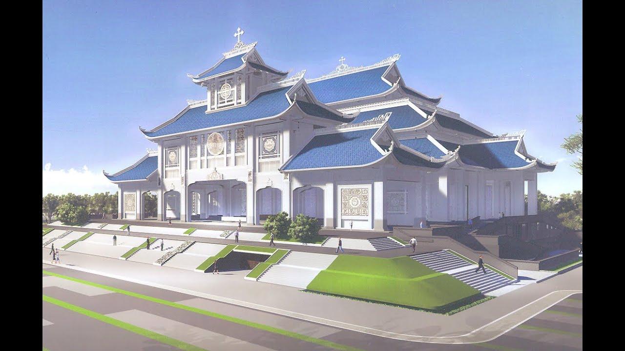 Thiết kế vuong cung thánh địa La Vang