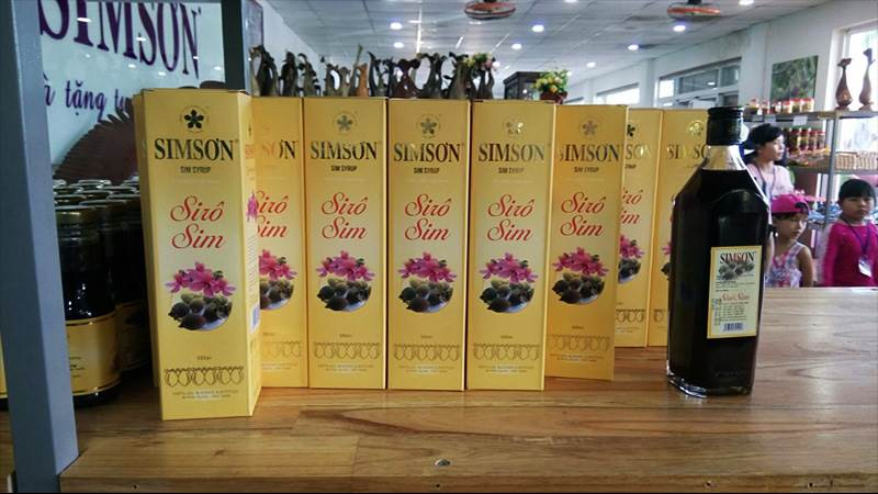 Rượu Sim sơn Phú Quốc