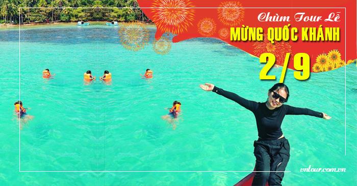 Tour du lịch đảo Nam Du Lễ Quốc Khánh 2/9/2019