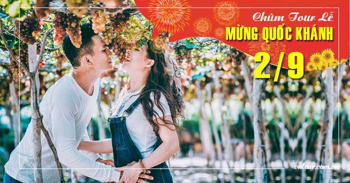 Tour du lịch Ninh Chữ Lễ Quốc Khánh 2/9/2019