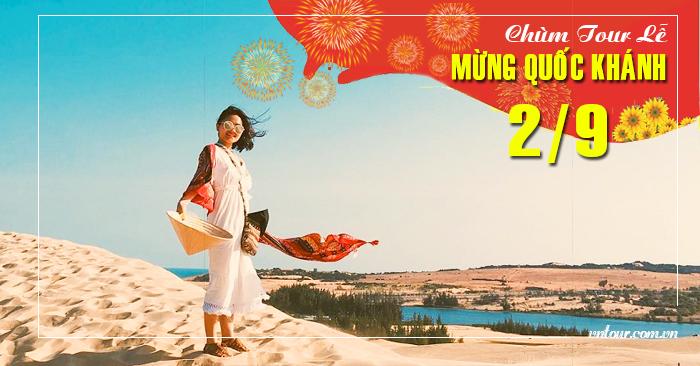 Tour du lịch Phan Thiết 3 ngày 2 đêm lễ Quốc Khánh 2/9/2021