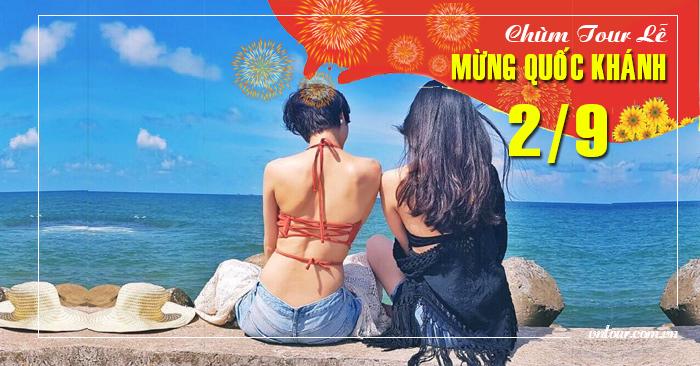 Tour du lịch Ninh Chữ Đảo Bình Hưng Lễ Quốc Khánh 2/9/2021