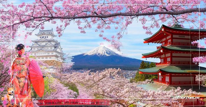Tour du lịch Nhật Bản 6 ngày 5 đêm: Tokyo - Núi Phú Sĩ