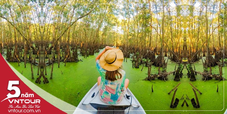 Tour du lịch Châu Đốc Hà Tiên Tết Nguyên Đán 2020: Đảo Bà Lụa - Rừng Tràm Trà Sư