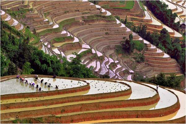 Tour Hà Giang mùa nước đổ