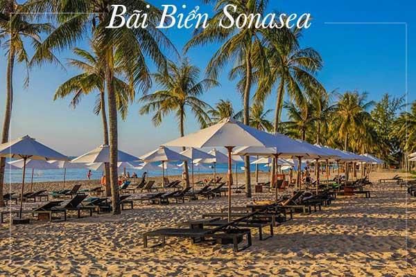 bãi biển sonasea