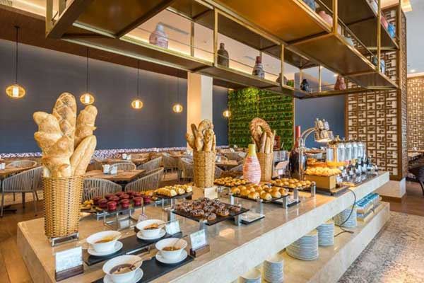 buffet sáng ở sonasea
