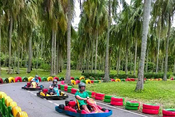tour vịnh nha phu đảo khỉ