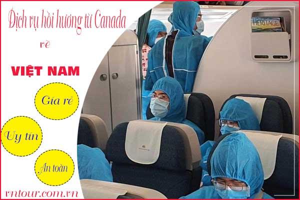 Thủ tục hồi hương cho Việt Kiều Canada về Việt Nam