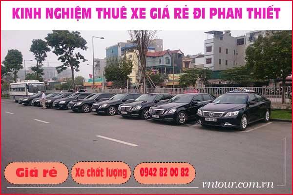 Thuê xe giá rẻ đi Phan thiết