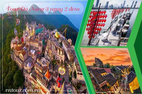 Tour du lịch Đà Nẵng 3 ngày 2 đêm: Bà Nà - Hội An - Sơn Trà