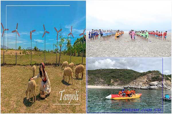 Tour Ninh Chữ Vịnh Vĩnh Hy 3 ngày 2 đêm giá rẻ
