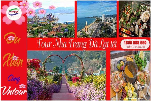 Tour du lịch Nha Trang - Đà Lạt ( 5N4Đ) Tết Nguyên Đán giá rẻ
