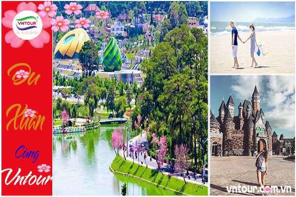 Du lịch Tết 2022: Tour Nha Trang - Đà Lạt ( 4N4Đ) giá rẻ