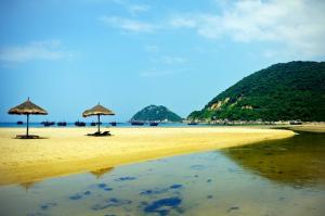 Vui chơi thưởng thức hải sản tại bãi biển Đại Lãnh - du lịch Phú Yên
