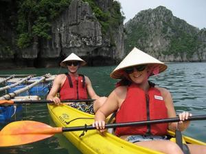 Môn thể thao cho người ưa mạo hiểm - Kayak