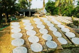Bánh tráng - món ăn ba miền đi đâu cũng thấy