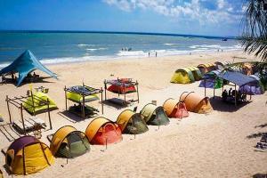 Coco Beach Camp Lagi – Cắm trại cực đã ngay trên biển Bình Thuận