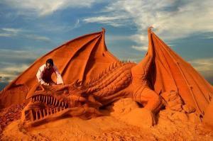 Công viên tượng cát Forgotten Land - Thế giới cổ tích tại Phan Thiết