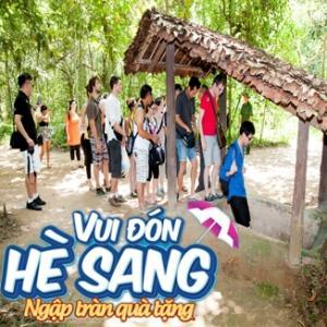 Tour du lịch hè 1 ngày:  Địa Đạo Củ Chi - Tòa Thánh Tây Ninh
