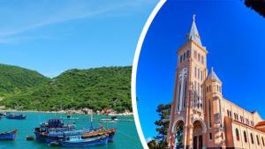 Tour du lịch Ninh Chữ Đà Lạt 4N4Đ: Đảo Bình Hưng - Bidoup