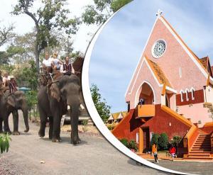 Tour du lịch Buôn Mê Thuột Đà Lạt 4N4Đ: Thác Khói Draysap - Đường Hầm