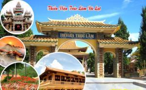 Tour du lịch Đà Lạt 3N3Đ: Hành Hương Vu Lan Báo Hiếu