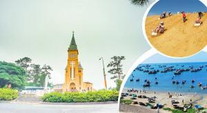 Tour du lịch Phan Thiết - Đà Lạt 4N3Đ: tháp Chàm Pôshanư - Đường Hầm...