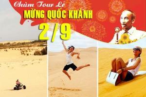 Tour du lịch Phan Thiết - Mũi Né 2 ngày 1 đêm lễ Quốc Khánh 2/9/2017