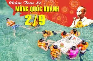 Tour du lịch Ninh Chữ - Đảo Bình Hưng 3 ngày 2 đêm Lễ Quốc Khánh 2/9/2017
