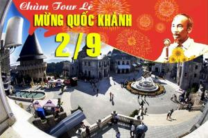 Tour du lịch Đà Nẵng Huế lễ Quốc Khánh 2/9/2018: Chỉnh Phục Đỉnh Bà Nà Hill