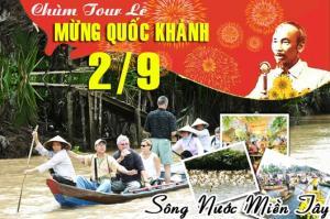 Tour du lịch miền Tây 1 ngày lễ Quốc Khánh 2/9/2017