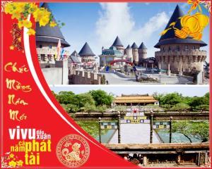 Tour du lịch Đà Nẵng Huế 5N4Đ: Tết Âm Lịch 2018