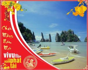 Tour du lịch Hà Tiên Cần Thơ Tết Nguyên Đán 2019: Đảo Bà Lụa - Hòn Phụ Tử - Chùa Hang