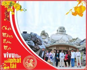 Tour Du Lịch Hành Hương Châu Đốc 2N1Đ: Tết Nguyên Đán 2019