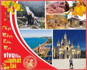 Tour du lịch Nha Trang Đà Lạt: KDL Trăm Trứng - Thác Datanla