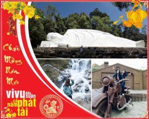 Tour du lịch Phan Thiết Đà Lạt 4N3Đ: Tết Nguyên Đán 2018
