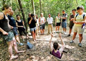 Tour du lịch hè Địa Đạo Củ Chi Tây Ninh 1 ngày